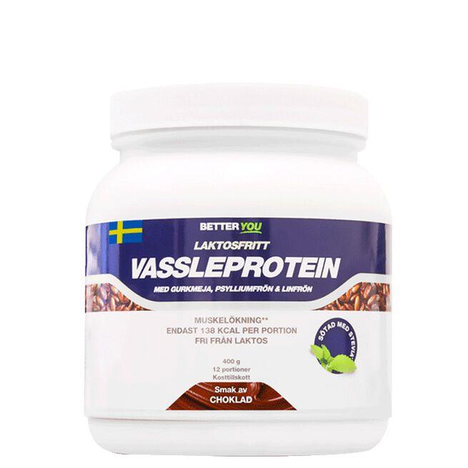 Laktosfritt Vassleprotein, Choklad 400 g Better You