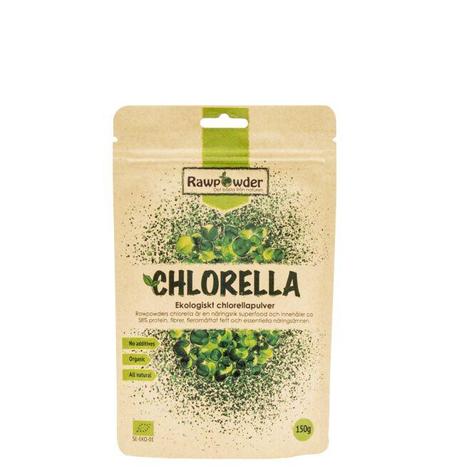 Chlorellapulver EKO, 150 g
