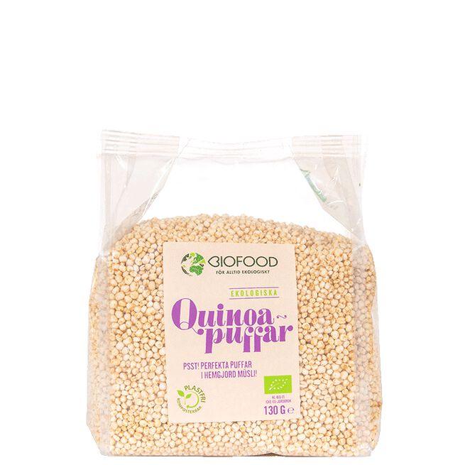 Ekologiska quinoapuffar Biofood