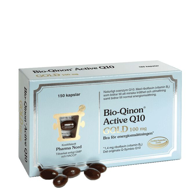 Bio-Qinon Active Q10 Gold 100 mg Pharma Nord