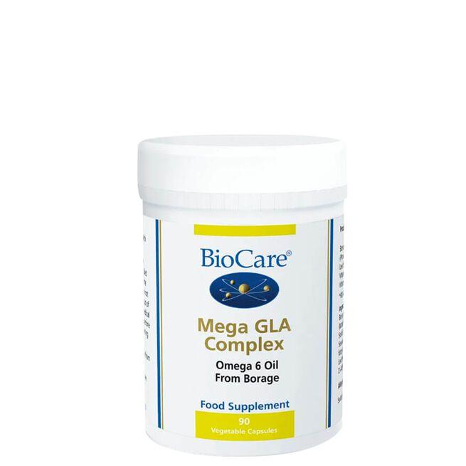 BioCare Mega GLA Complex (Omega-6 Fatty Acids), 90 kapslar
