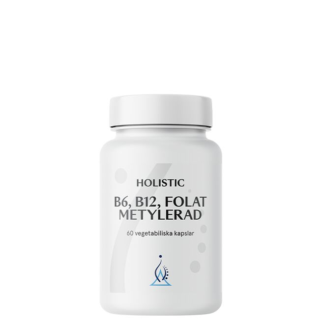 B6 B12 Folat Metylerad, 60 kapslar