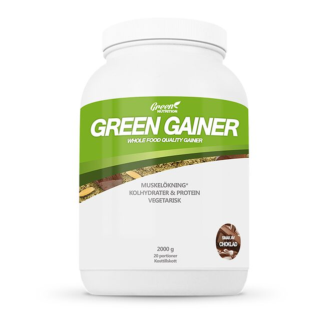 Green Gainer, 2000 g, Choklad