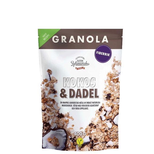 Granola Kokos & Dadel Clean Eating