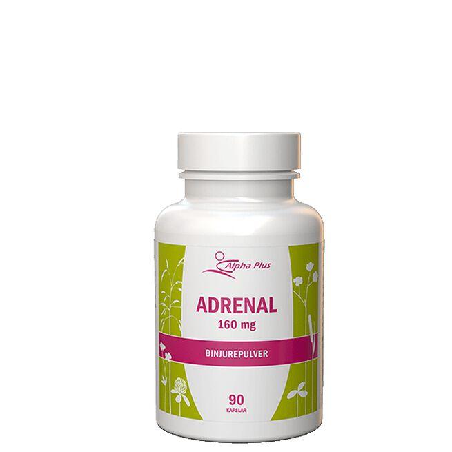 Adrenal 160 mg 90 kapslar Alpha Plus