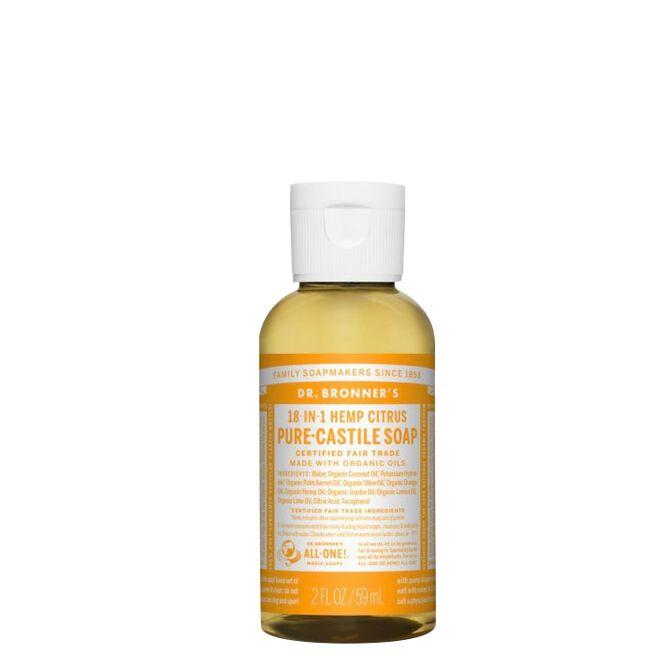 Citrus Orange Liquid Soap, 60 ml