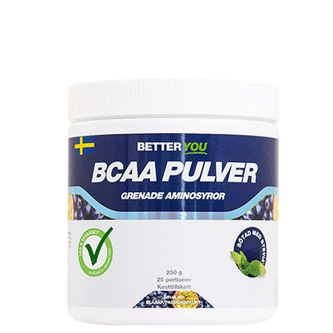 Naturligt Bcaa Pulver, 250 g Better You Passionfrukt/blåbär