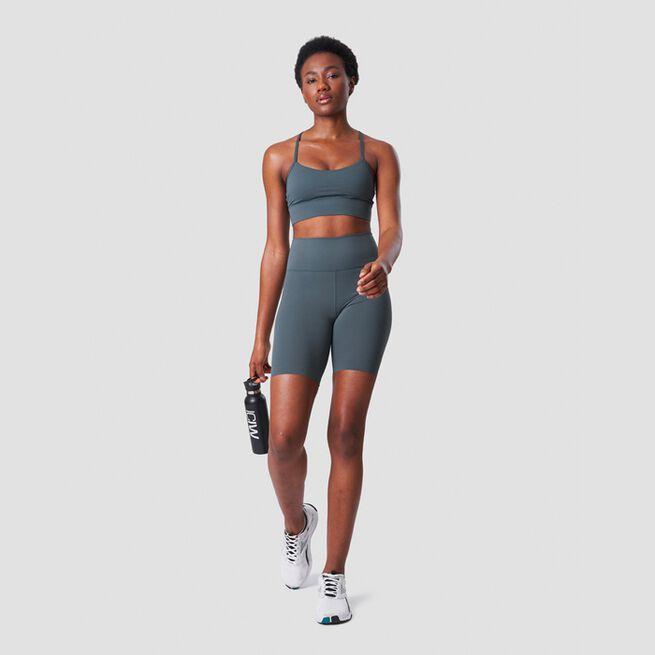 ICANIWILL Nimble Biker Shorts, Elm Green