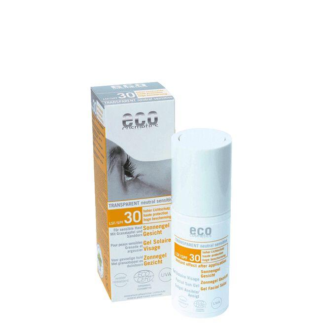 Solgel Ansikte SPF 30, 30 ml Eco Cosmetics