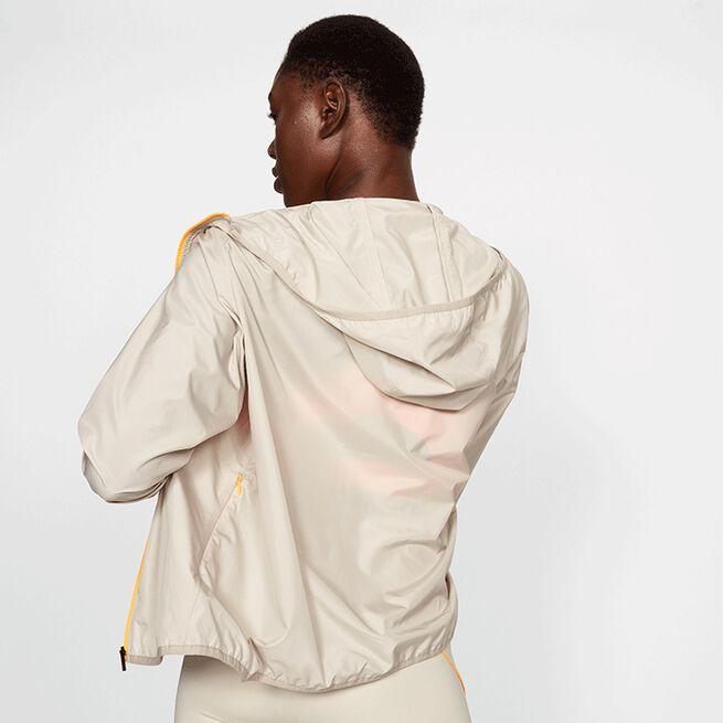 Röhnisch Printed Wind Jacket Pale Sand