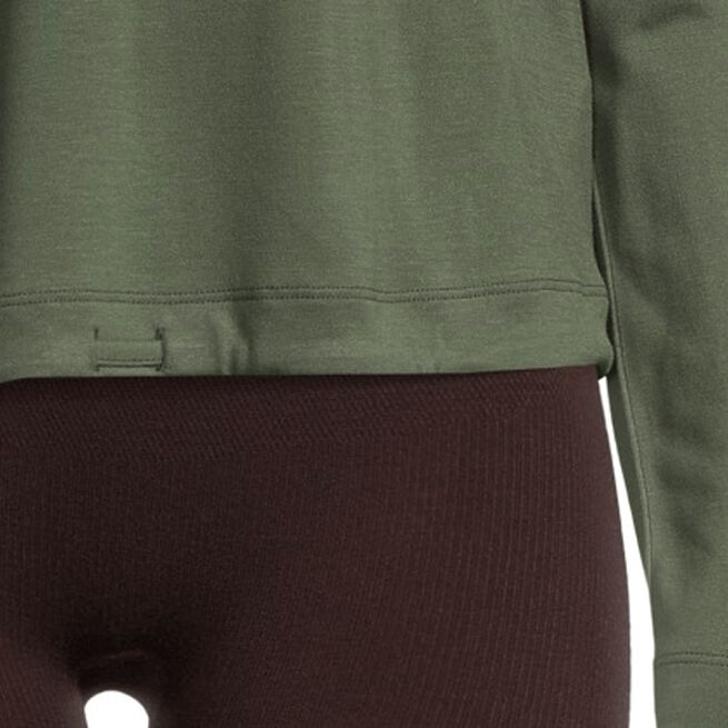 Casall Ease Crew Neck Northern Green