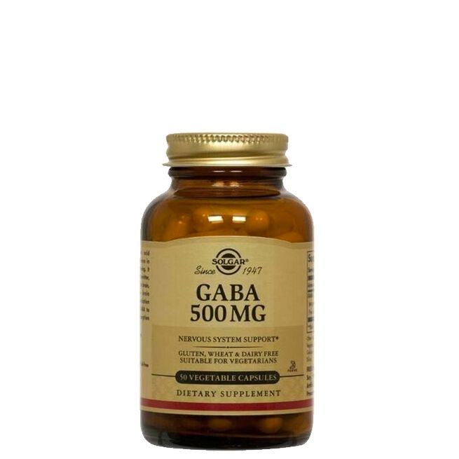 GABA 500 mg, 50 kapslar