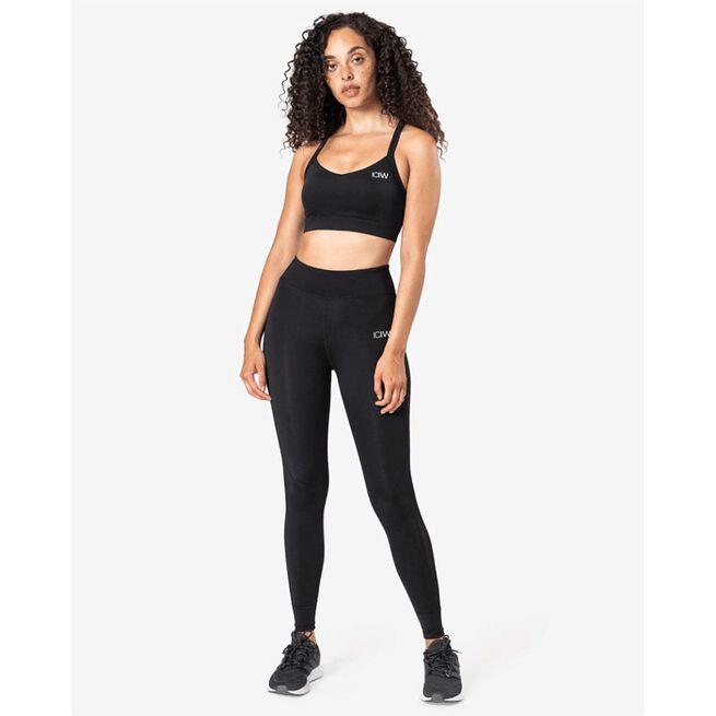 Essential Sports Bra, Black, XS