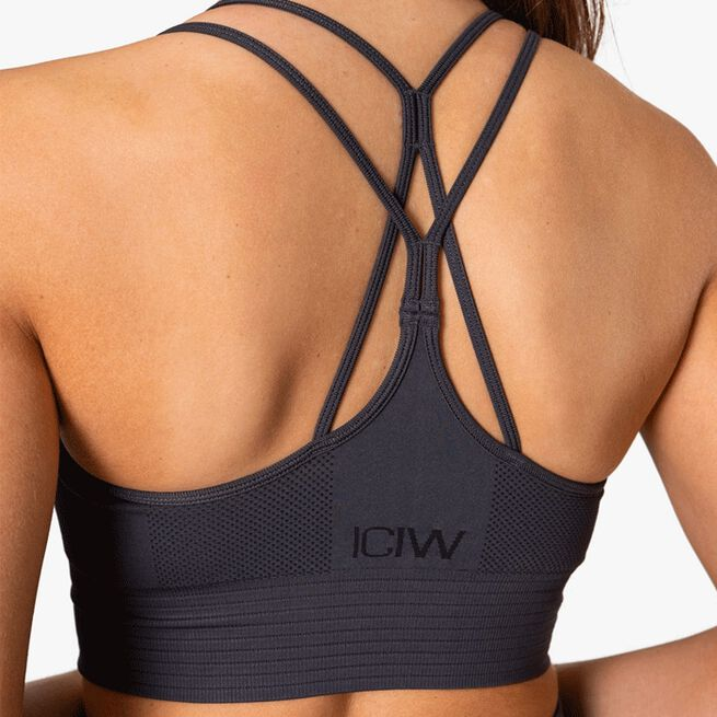 ICIW Define Seamless Sport Bra Graphite