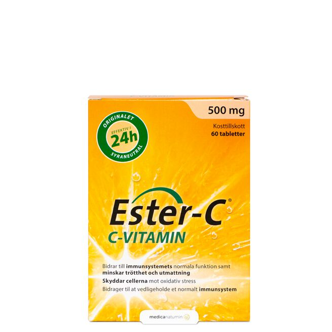 Ester-C 500 mg 60 tabletter