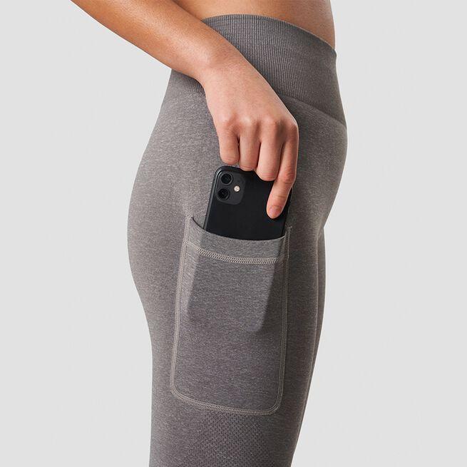 ICANIWILL Define Pocket Tights Taupe Melange
