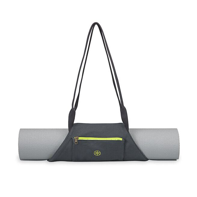 On-The-Go Yoga Mat Carrier Citron/Storm