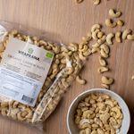 Ekologiska Cashewnötter, 750g