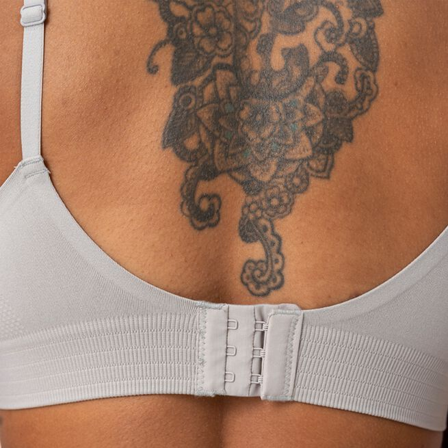 ICANIWILL Define Adjustable Sports Bra Light Grey