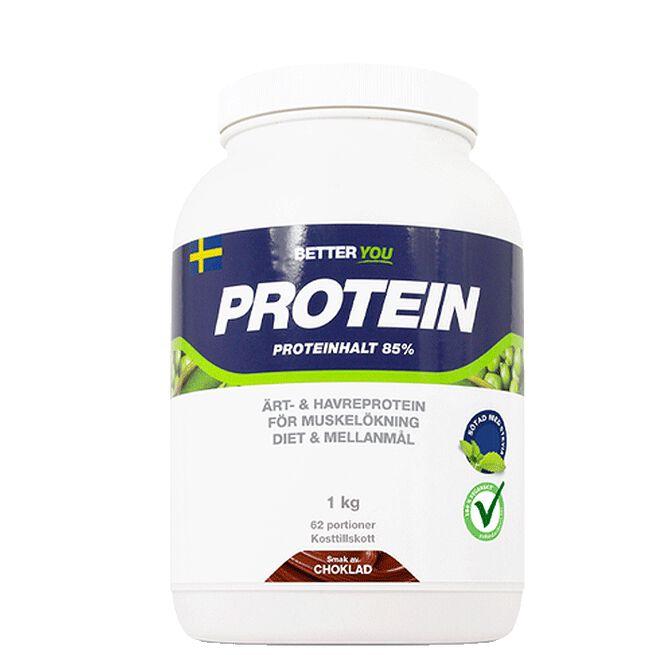Ärt- och havreprotein, choklad 1 kg Better You