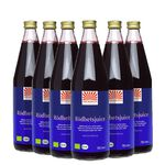 6x Rödbetsjuice, 750 ml