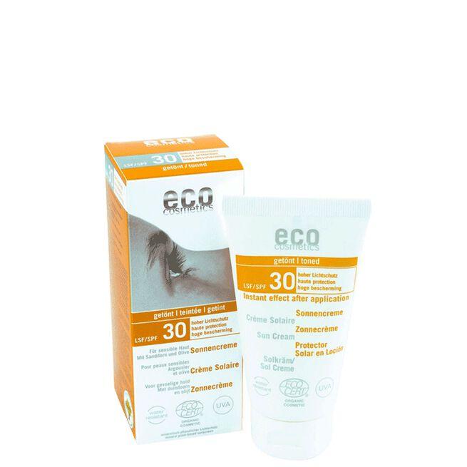 Solkräm Tonad SPF 30, 75 ml Eco Cosmetics