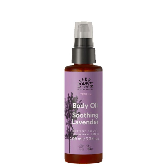 Tune In Soothing Lavender Body Oil Organic, 100ml