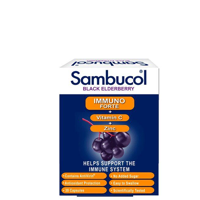 Sambucol Immuno Forte 30 kapslar