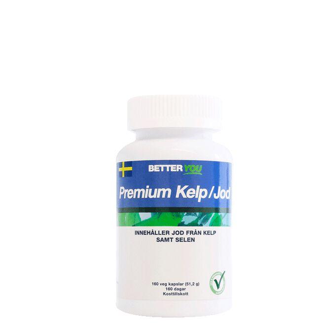 Premium Kelp/Jod, 160 kapslar Better You