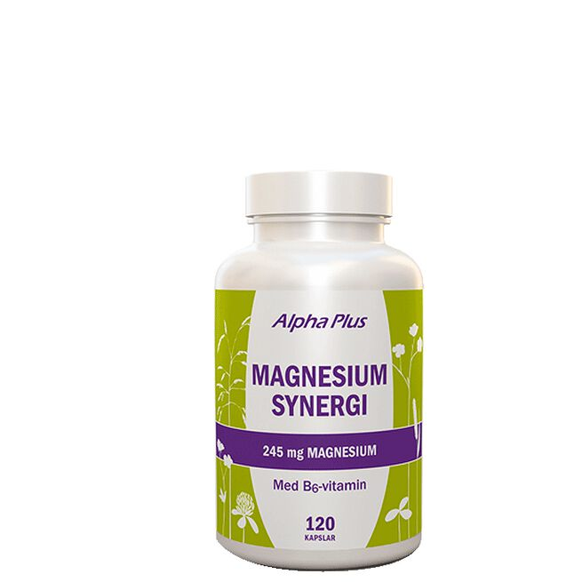 Magnesium Synergi, 120 kap Alpha plus