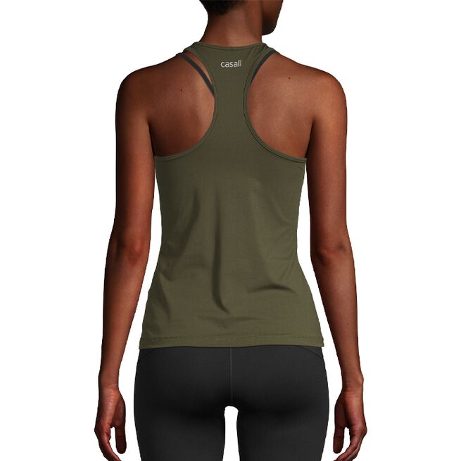 Essential Racerback, Forest Green, 34