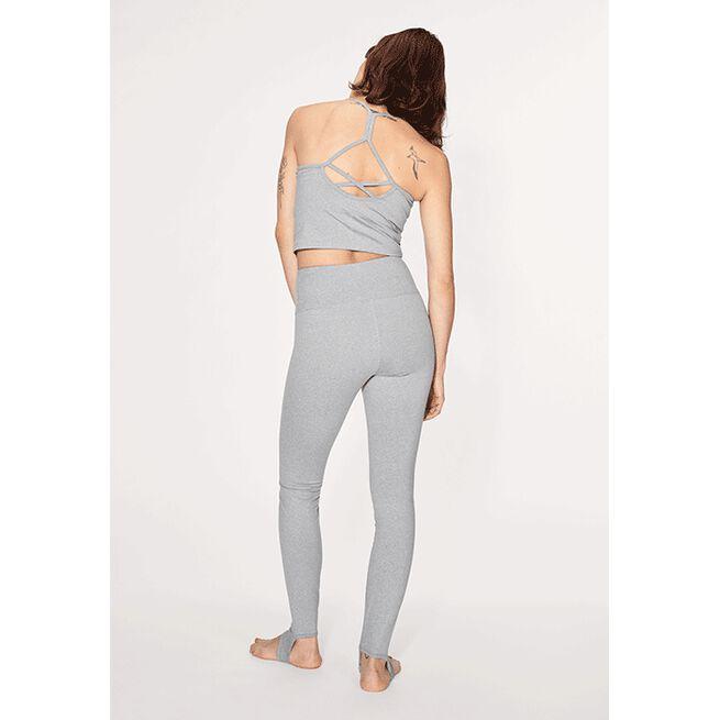 Shakti Cropped Top, Grey Melange, L