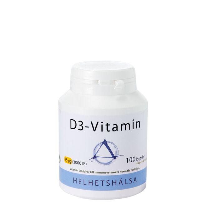D3-vitamin Helhetshälsa