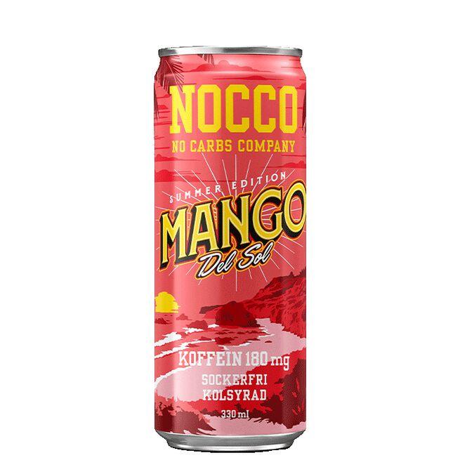 NOCCO BCAA, 330 ml, Mango del Sol