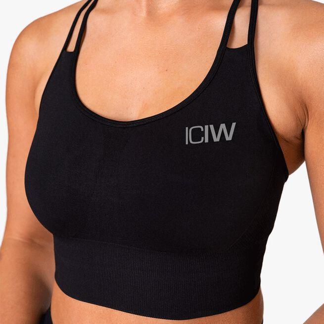 ICIW Define Seamless Sport Bra Black
