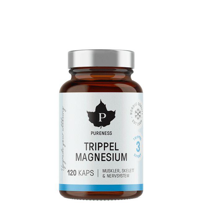 Pureness Trippel Magnesium, 120 caps