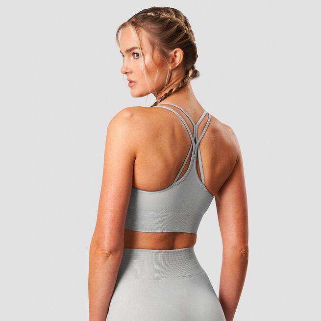 ICANIWILL Define Seamless Sport Bra Light Grey