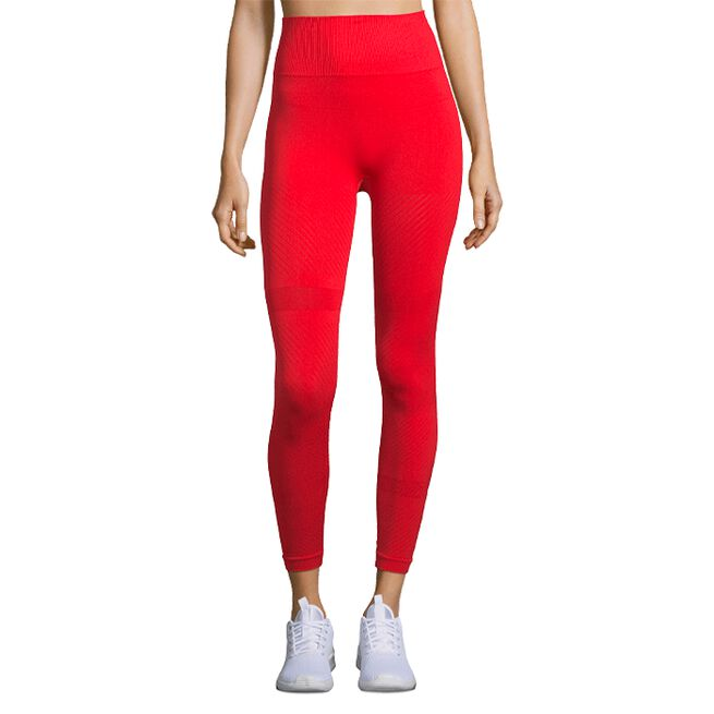 Casall Seamless Blocked Tights Impact Red