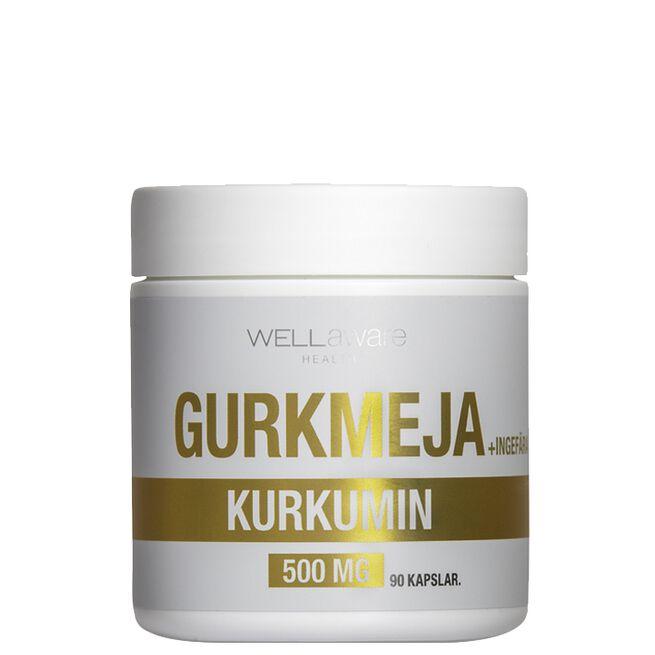 WellAware Gurkmeja/Ingefära 500 mg
