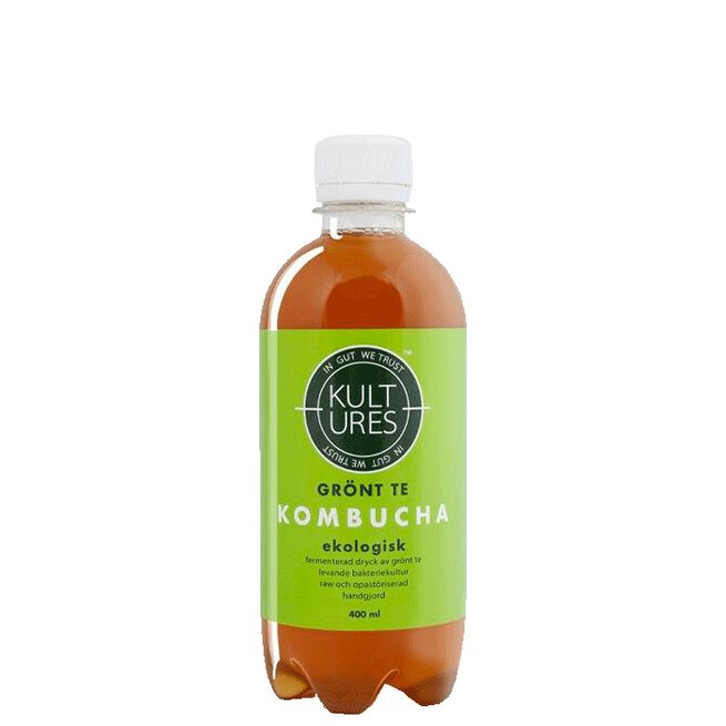Kultures Kombucha Original Green Tea, 400 ml