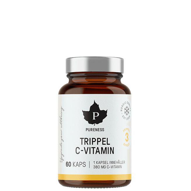 Pureness Trippel C-vitamin, 60 caps