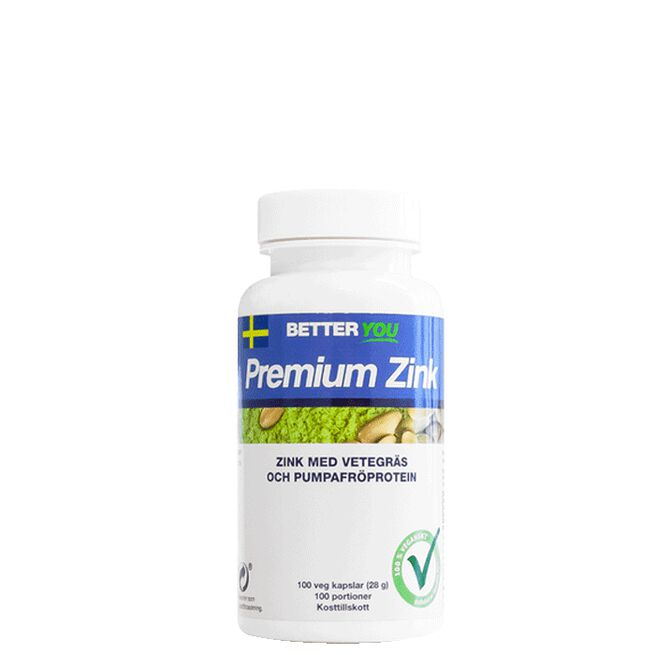 Premium Zink, 100 kaps Better You