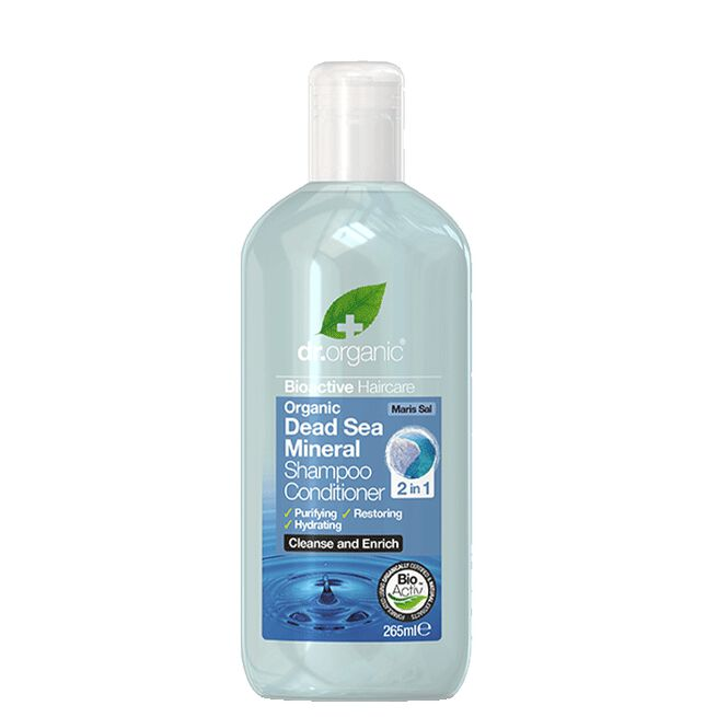 Dead Sea Mineral Shampoo & Conditioner 2in1, 265 ml