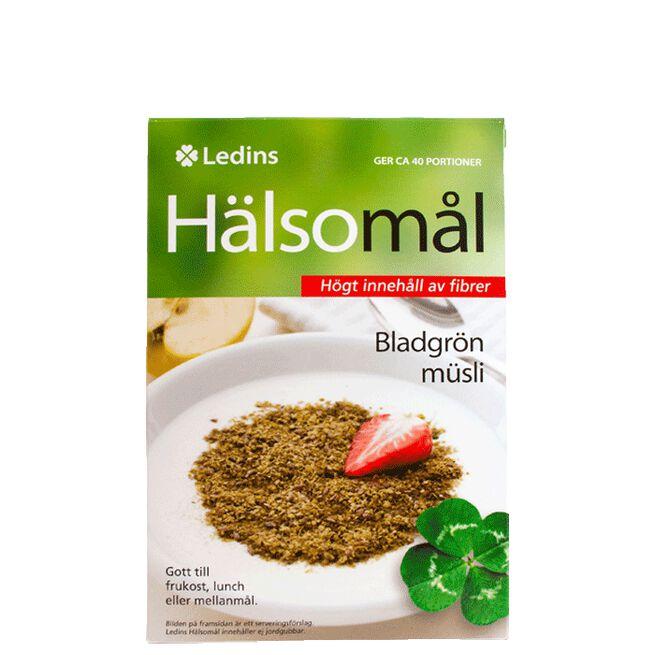 Hälsomål Bladgrönt Müsli, 500 gram