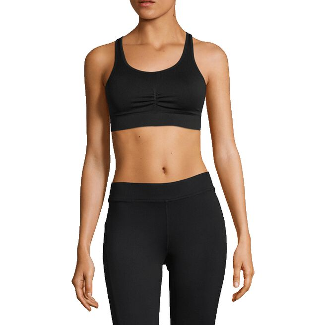 Soft Sports Bra, Black