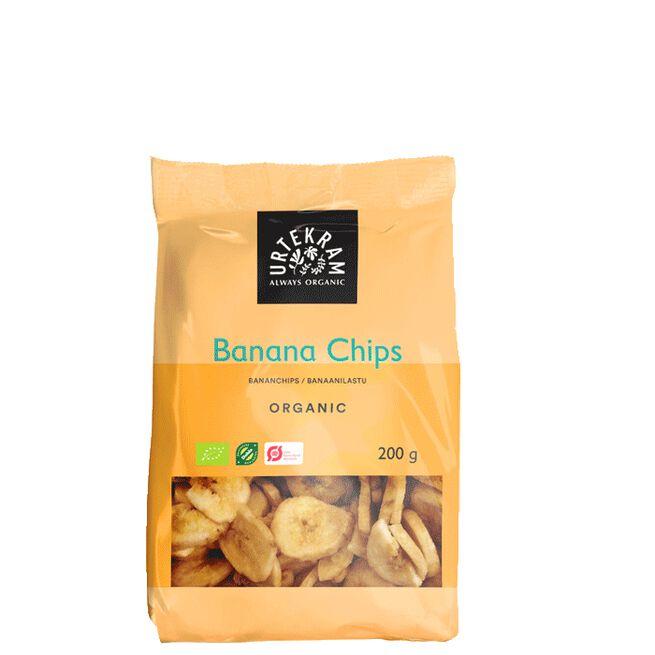 Spröda Bananchips, 200 g