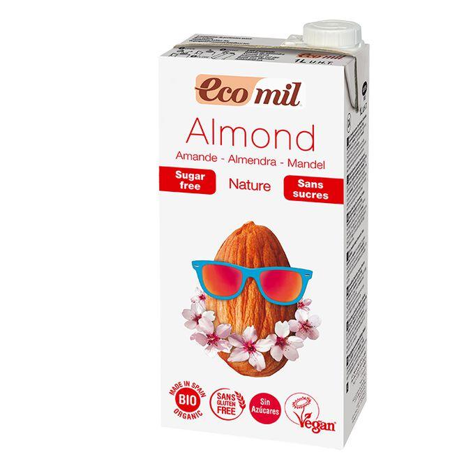 Ecomil Almond sugarfree, 1000 ml