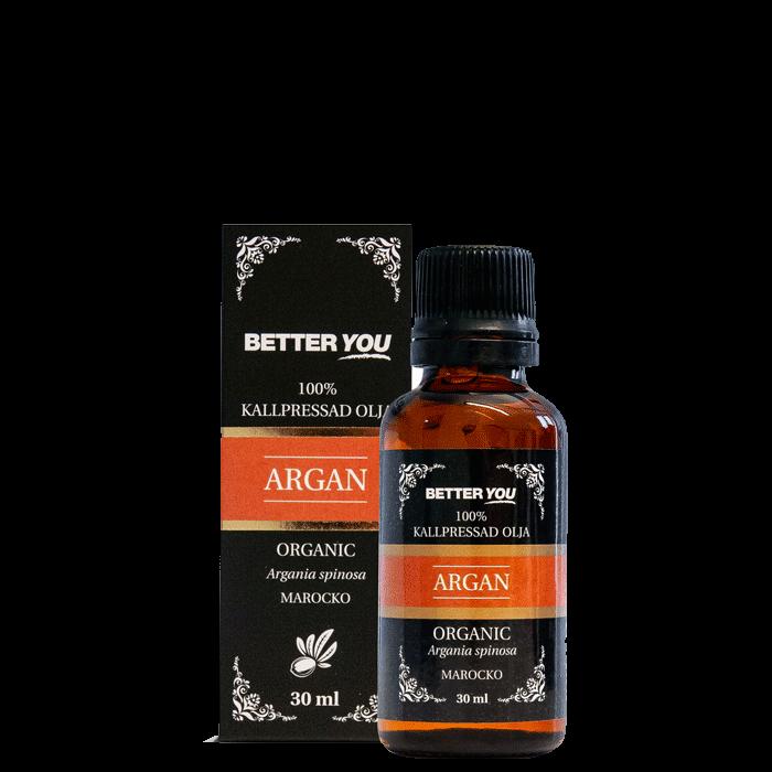 Arganolja EKO Kallpressad, 30 ml