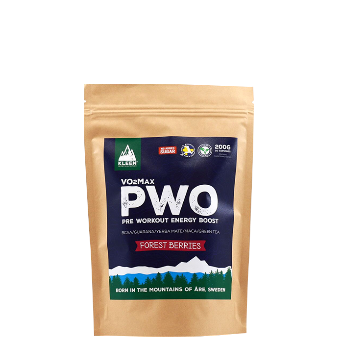 KLEEN VO2Max PWO Forest Berries, 200 g
