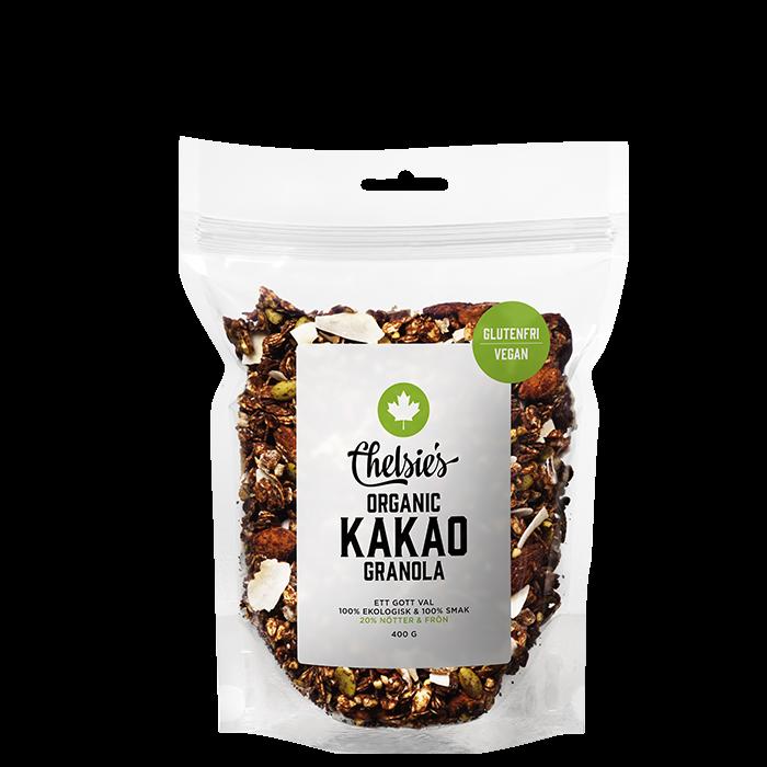 Chelsie's Organic Granola Kakao, 400 g